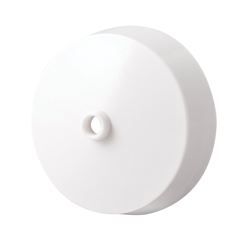 Ceiling Rose Base In Polycarbonate White